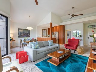 Immaculate, Luxury Comfort, Stunning Views - Hawaiian-Chic, Mid-Century Modern