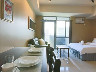 Comfy Manhattan Heights Unit Araneta Cubao 20MBPS!