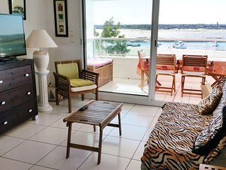 Appartement  de Prestige sur une plage dans la ville d' Arcachon