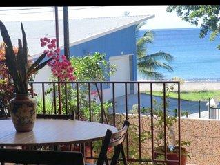 House facing the sea & Club sailing 115m², Clim, WiFi, Grand Terrace, Barbecue