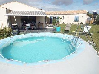 maison 220 m² dans village très calme à 10 min du port de La Rochelle