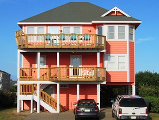 Coralina 12 - Ocean View w/ Private Pool Near Nags Head Pier