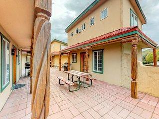 Southwest-style villa at Sunbanks Resort w/ lake view & shared dock - 2 dogs OK!