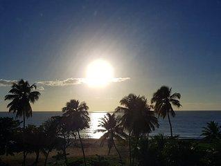 Um paraiso de frente para o  mar do Cabo Branco