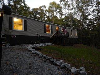 hilltop cabin in greenville sc
