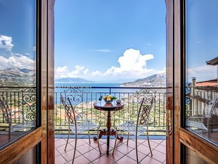 Heart & Soul of Sorrento - Private Villa with stunning sea view terrace