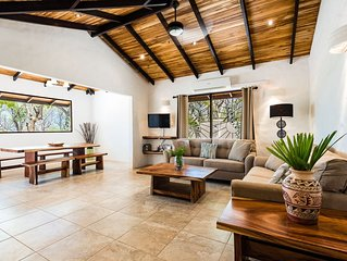 Your Private Beachfront Oasis On White Sand Secluded Playa Grande Beach