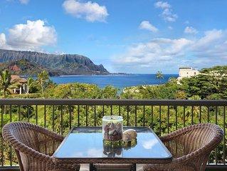 Hanalei Bay Resort #3201 & 3202: HANALEI BAY VIEWS & AC!