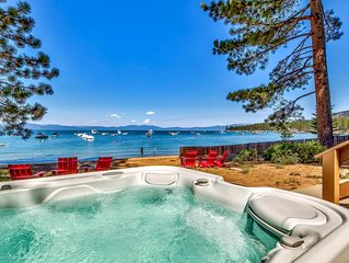 Tahoe Cabin ' Zephyr Cove Lakefront 3 br / 2 ba Buoy and Beach!