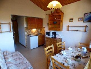 Lumineux Studio cabine en centre station
