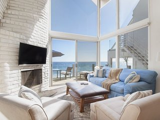 Malibu Townhouse - Right On The Sand