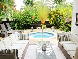 Luxury Boutique West Coast Villa with Beach Club membership and Tennis Court