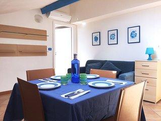 La Casa Azzurra: delizioso bilocale a pochi metri dal mare di S. Lorenzo (IM)