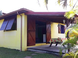 Petite maison tres agreables 2-3pers. a Goyave Guadeloupe