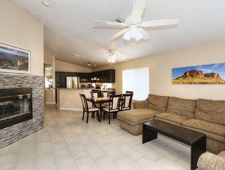 New! Great Westside Location close to Restaurant District,101, and Baseball !