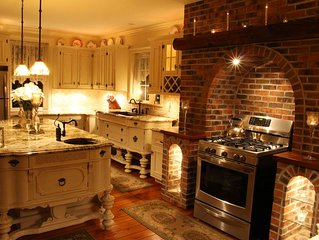 Stunning renovation - modern amenities . In the country, but close to everything