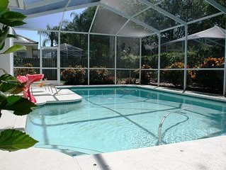 Large 4 Bedroom 3 Bath Vacation House With Heated Swimming Pool