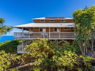 180* Ocean-Beachfront Views! Private Tropical Setting! Walk to Beach-NEW PHOTOS!