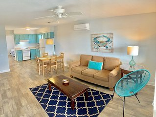 Atlantic Oasis ,NEW for 2018,Renovated, less than 1 block to the beach!