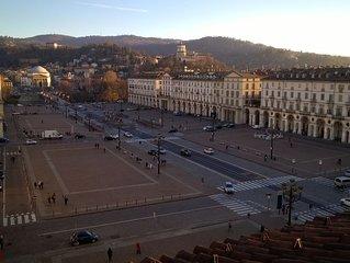 Monolocale di nuova ristrutturazione con vista mozzafiato su Piazza Vittorio