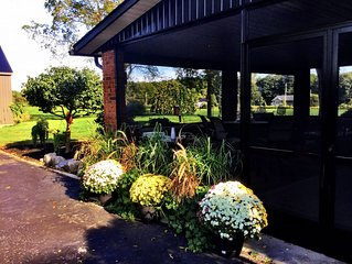 * 50 Acre Private Country Estate with Screened-In Patio Gym. Fire-pit Games Barn