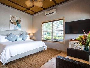 2 bedroom family villa at Placencia