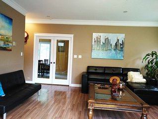 Private Burnaby Home! Walking distance to Skytrain