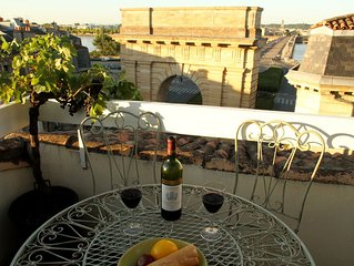 Bordeaux Terrace - spectacular view in historic centre (Elevator)