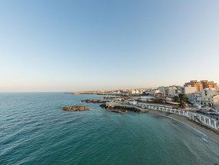 Terrazzo ESCLUSIVO SOVRASTANTE sul Mare