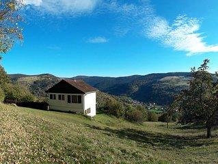 Gîte confortable indépendant, au calme, vue superbe sur la montagne