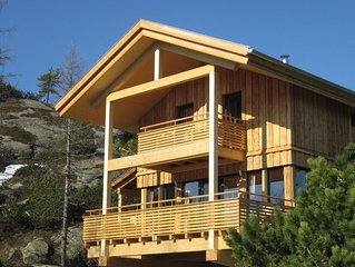 Peaceful Chalet in Turracherhohe with Jacuzzi