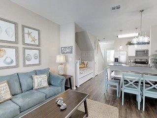 NEW LISTING! Beautiful New 3BR/3BA Walking Distance to Beach & Packery Channel