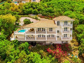 Promises Kept a luxury 5000 sq ft villa  St. John *** 4 master suites***