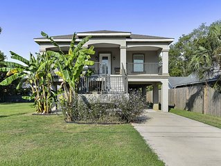 Downtown Biloxi Area - Beautiful Elevated  3 Bedroom 2 Bath Home