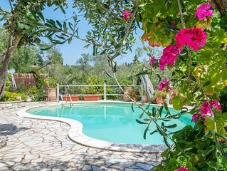 Villa with pool situated amongst the Olive Groves of Fanariotatika