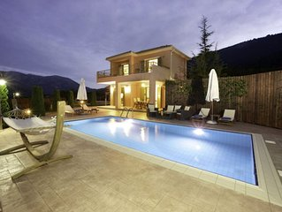 Stunning modern two-bedroom villa with private pool and lovely gardens