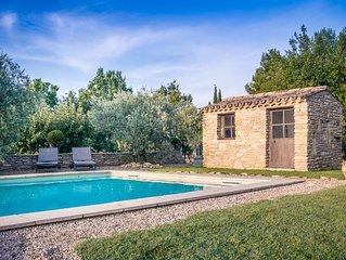 Mas Provençal de 200m2, climatisé avec piscine  classé 4 *  Belles prestations