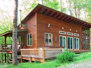 Kick Back Cabin - fishing pond and trails - Hocking Hills