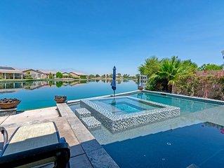 Luxury Lake Desert Oasis w/ saltwater pool/spa