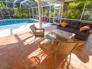 Lovely Home / Pool Sanctuary 2 min to Nokomis Beach/Casey Key incl KAYAKS, Bikes