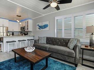 Brand NEW Beach Rental 2 Bed 1 Bath View & Location! Historic Paralia House