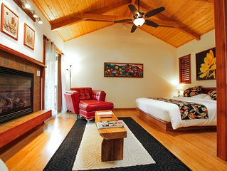 Luxury Rainforest Getaway Near Volcanoes National Park