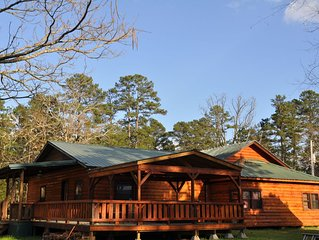 GREAT RATES:  LOST UNDER THE STARS   Catch and Release Fishing Pond  20+ acres