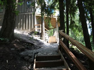 Cabin 1 named Bayview at Blind Bay Hideaway on the beautiful Shuswap Lake