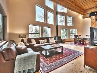 Park City Cabin Retreat, Sleeps 11, Top Of The Mountain, Great Views, Tall Pines