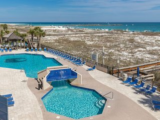 Only a Few August Dates Remaining--Direct Beach Frontage-Perdido Pass View