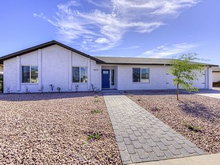 Outstanding REMODELED 4 Bedroom Designer Home with Private Heated POOL.