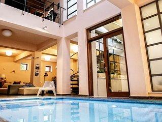 Villa in Athen mit puren Luxus und Service