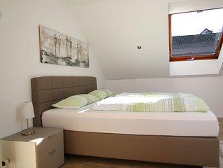 Ferienwohnung, 78 qm, 2 Schlafzimmer, Terrasse, max. 4 Personen