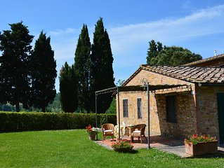 The beauty of Tuscany, wine, art and relax
